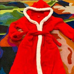 Baby Gap boys hooded robe